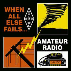 When all else fails!....AMATEUR RADIO